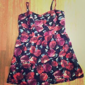 Torrid Plum Flower Dress